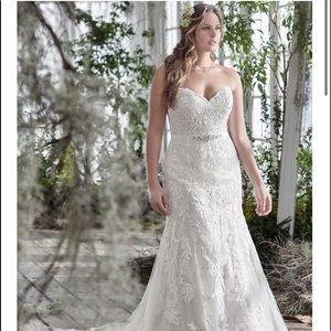NWT   Maggie Sottero Winstyn   Sz 16 Wedding Dress